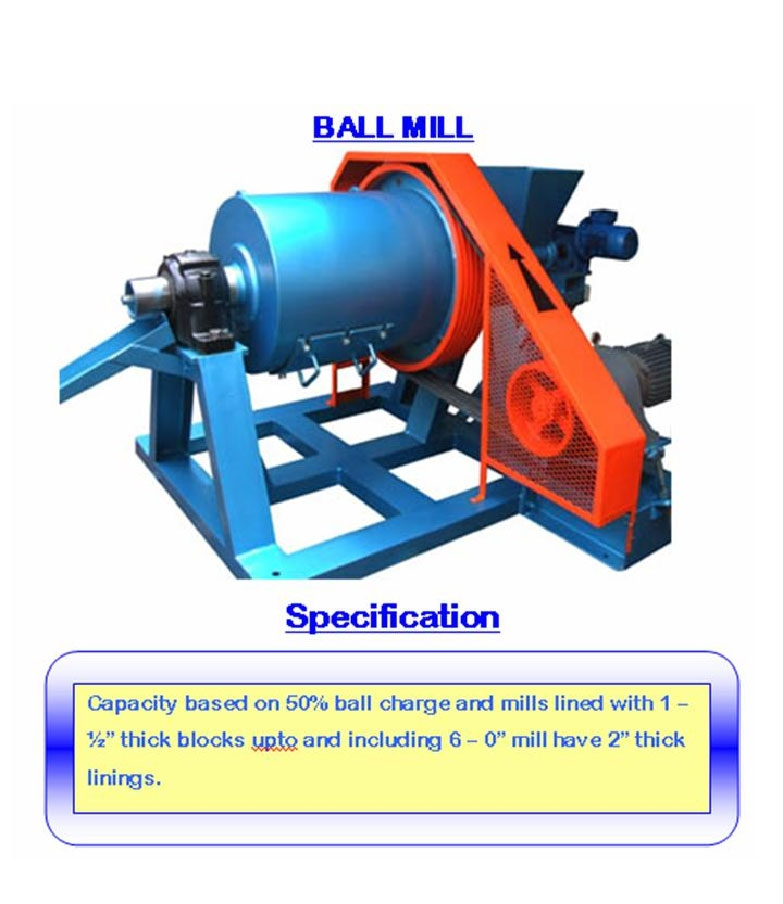 Alat laboratorium teknik sipil Ball Mill