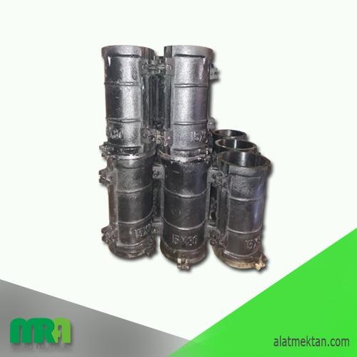 Alat laboratorium teknik sipil Concrete Cylinder Mold