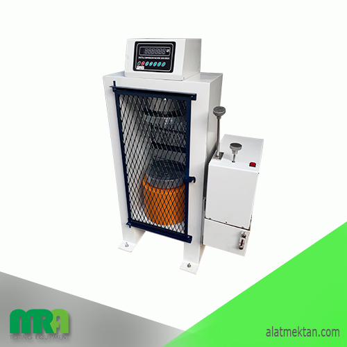 Alat laboratorium teknik sipil Digital Compression Machine 2000 kN