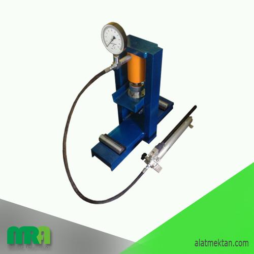 Alat laboratorium teknik sipil Hydraulic Concrete Beam Testing Machine