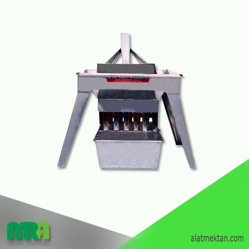 Alat laboratorium teknik sipil Sample Splitter  Sample Splitter For driving dry material such as gravel and sand.