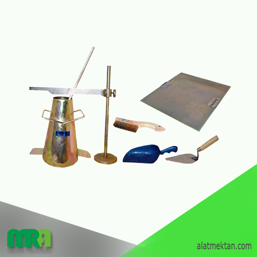 Alat laboratorium teknik sipil Slump Test Set