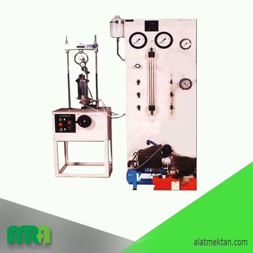 Alat laboratorium teknik sipil triaxial test set